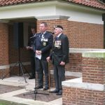 Commemoration at the British War Cemetery at Mook. Sunday, 18th September 2011, 16:00 hrs. The Exhortation by: Charles Reeves, National President Market-Garden Veterans' Association.