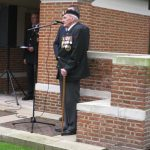 Commemoration at the British War Cemetery at Mook. Sunday, 18th September 2011, 16:01 hrs.