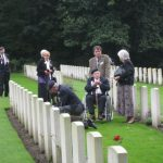 Commemoration at the British War Cemetery at Mook. Sunday, 18th September 2011, 16:13 hrs.