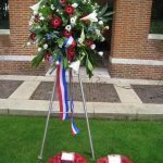 Commemoration at the British War Cemetery at Mook. Sunday, 18th September 2011, 16:15 hrs.