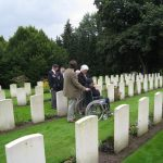 Commemoration at the British War Cemetery at Mook. Sunday, 18th September 2011, 16:16 hrs.