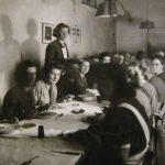Foto 23 - Het Nederlandse Militaire hospitaal, Kloostergang als eetzaal van de verpleegsters