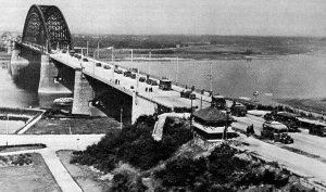Nijmegen. Waal-Bridge