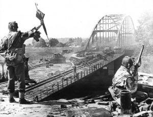 Arnhem. John Frost bridge