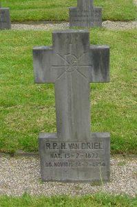 Neboklooster grafsteen R.P.H.van Driel