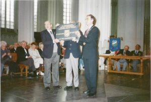 (1) The presentation of the MGVA plaque at the St.Stevens church
