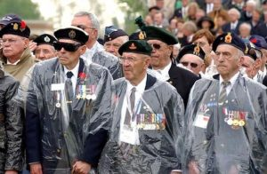 Nearly 2000 Canadian Veterans commemorated their fallen comrades at the Canadian War Cemetery at Groesbeek. Tuesday, 3rd May 2005