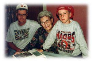 Wayne Robbins, Jean Stevenson and Reggie Robbins
